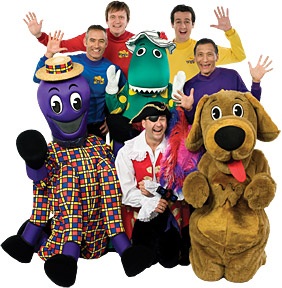 The Wiggles - Copyright – Stock Photo / Register Mark